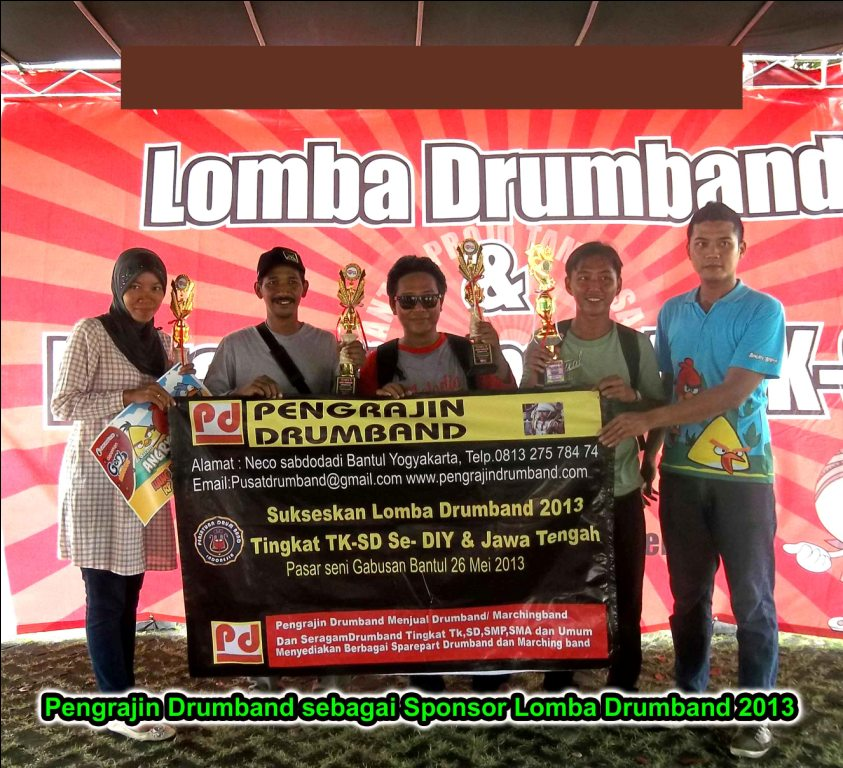 lomba drumband dan marchingband
