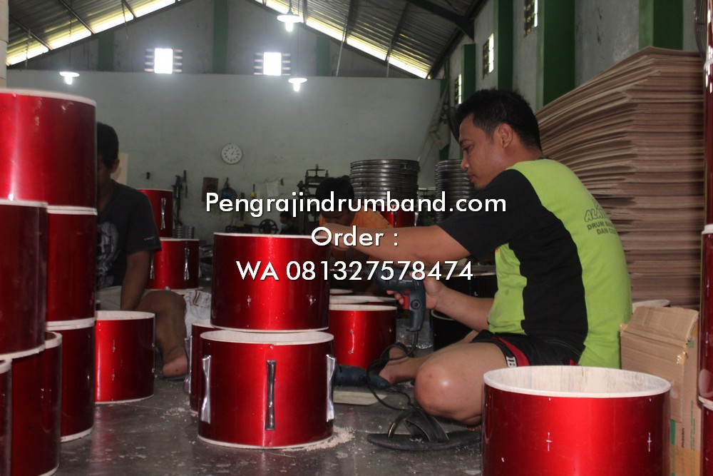 26jual alat drumband alat marchingband 081327578474 proses produksi