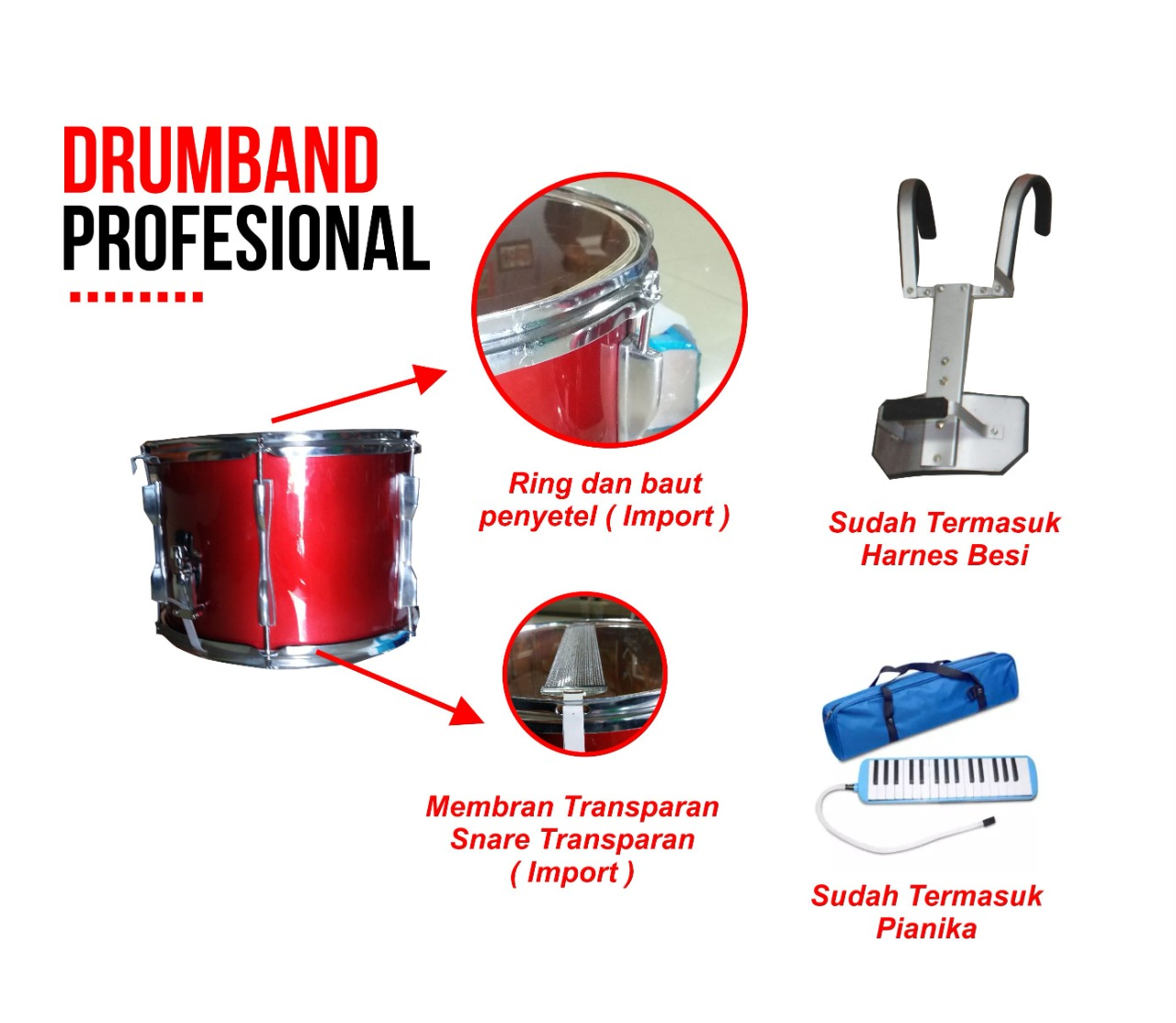 harga drumband profesional