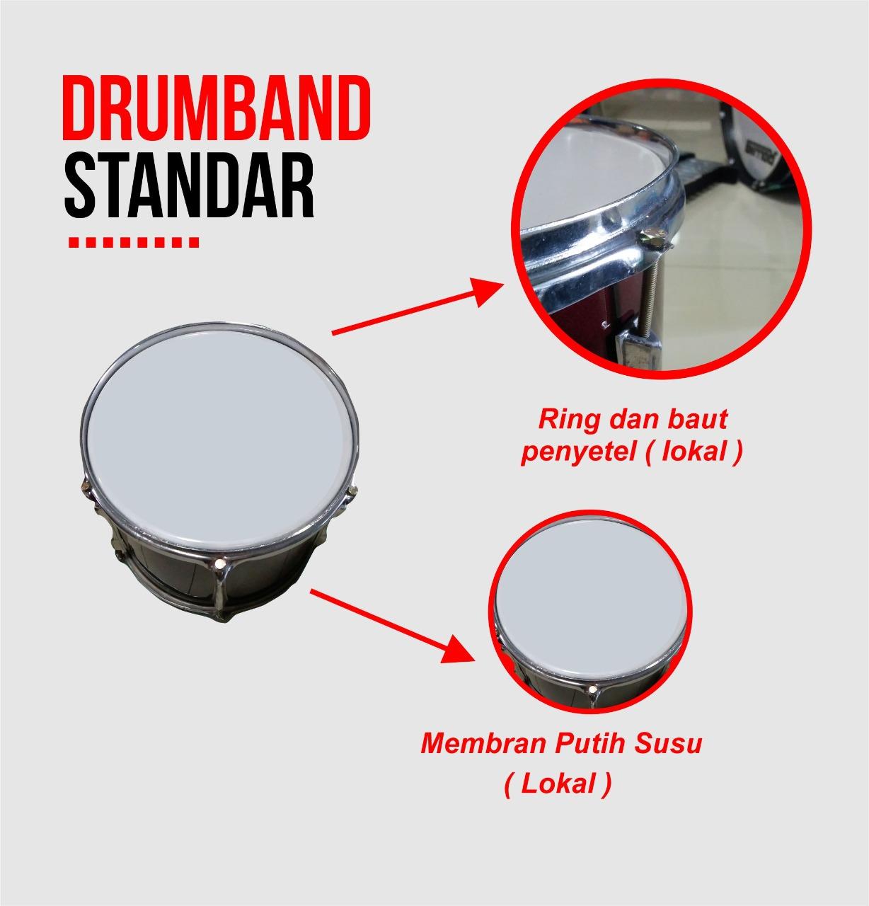 harga drumband standar