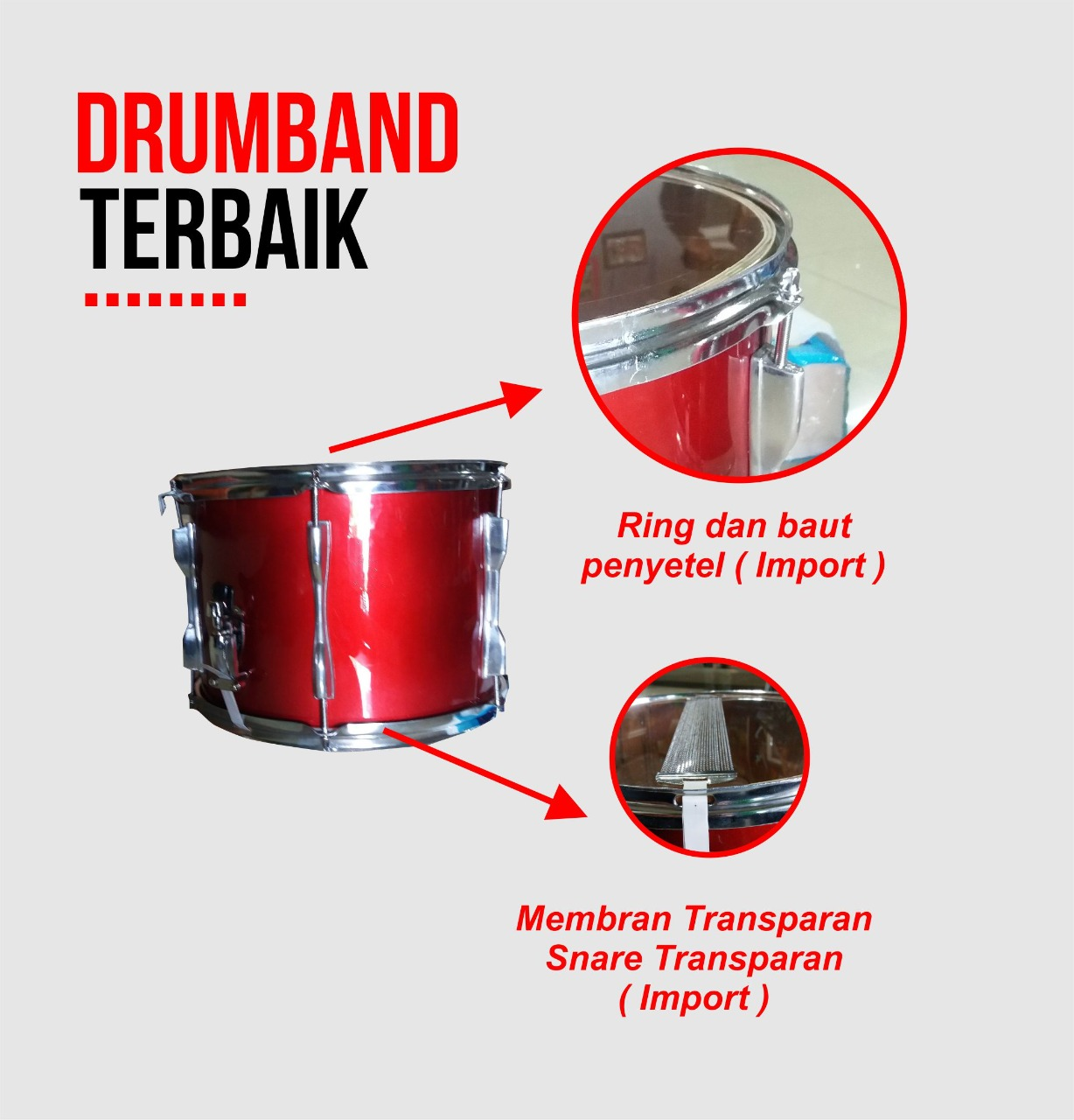 harga drumband terbaik